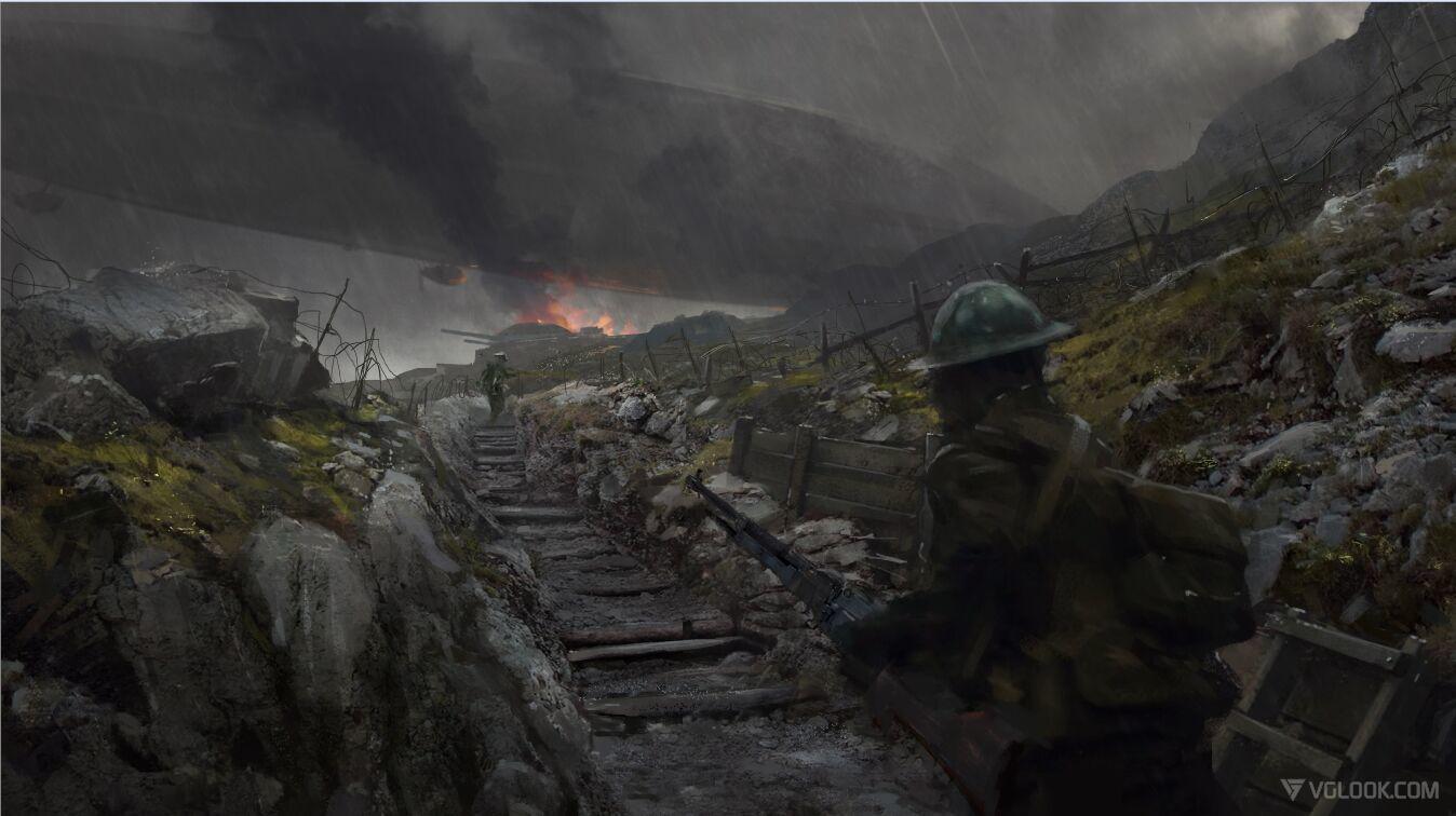 Concept Art Battlefield 1