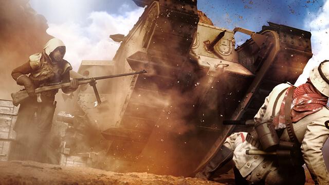 voertuigen in Battlefield 1