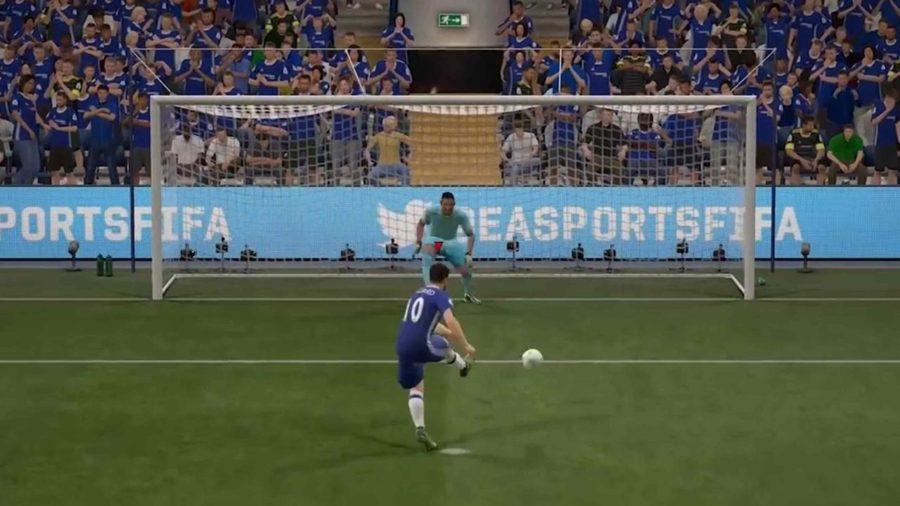 FIFA 17 hoe scoor je een penalty