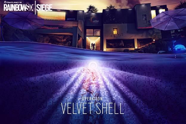 Rainbow Six Siege Operation Velvet Shell