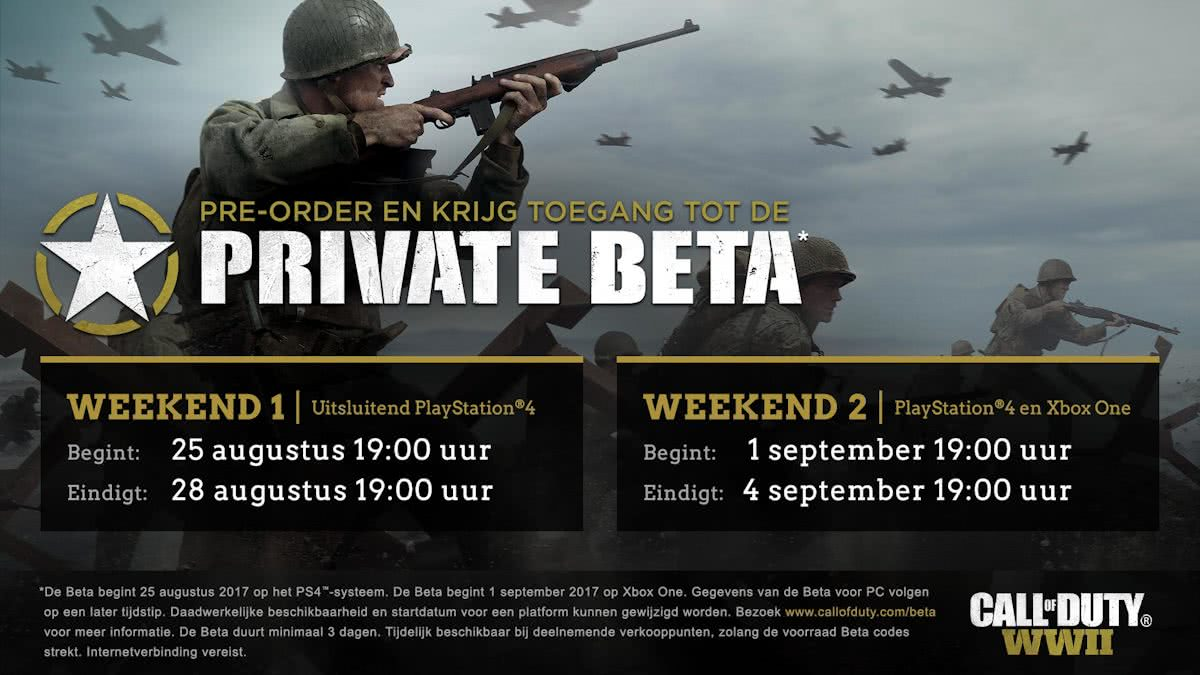 Call of Duty: WWII Beta