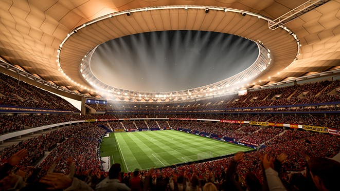 FIFA 18 nieuwe stadions