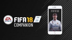 FIFA 18 Companion-app/Webapp