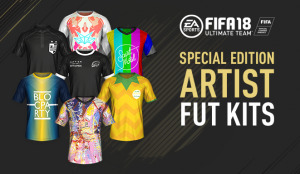FIFA 18 Ultimate team fut kits