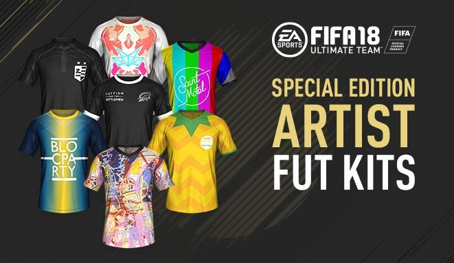 FIFA 18 Ultimate team fut kits