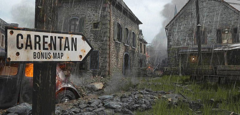 Call of Duty: WWII bonus map Carentan