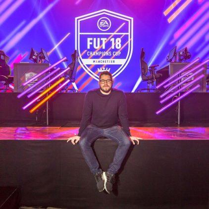 Falcon Msdosary wint de FIFA 18 FUT Champions Cup Manchester