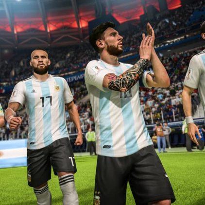 Check hier de eerste screenshots van FIFA 18 World Cup Russia 2018