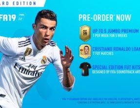Pre-Order FIFA 19 voor exclusieve bonussen in Ultimate Team