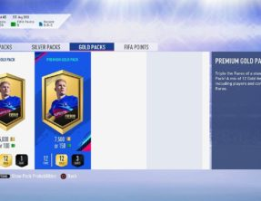 FIFA 19 toont kansberekening bij Pack Opening in Ultimate Team