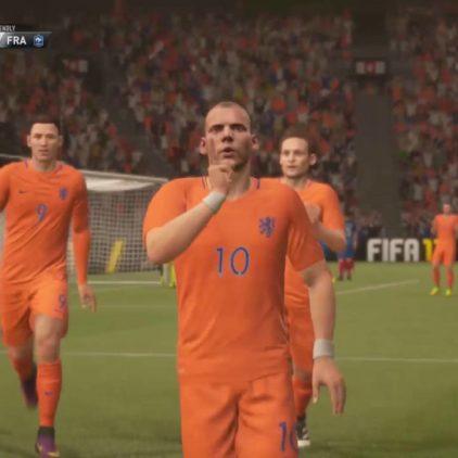 E-interland: de FIFA-talenten van Nederland en Frankrijk strijden tegen elkaar