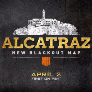 Alcatraz Map Blackout
