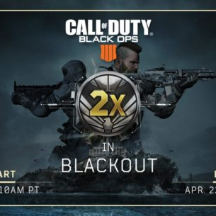2X Merits is nu live voor Call of Duty: Black Ops 4 Blackout