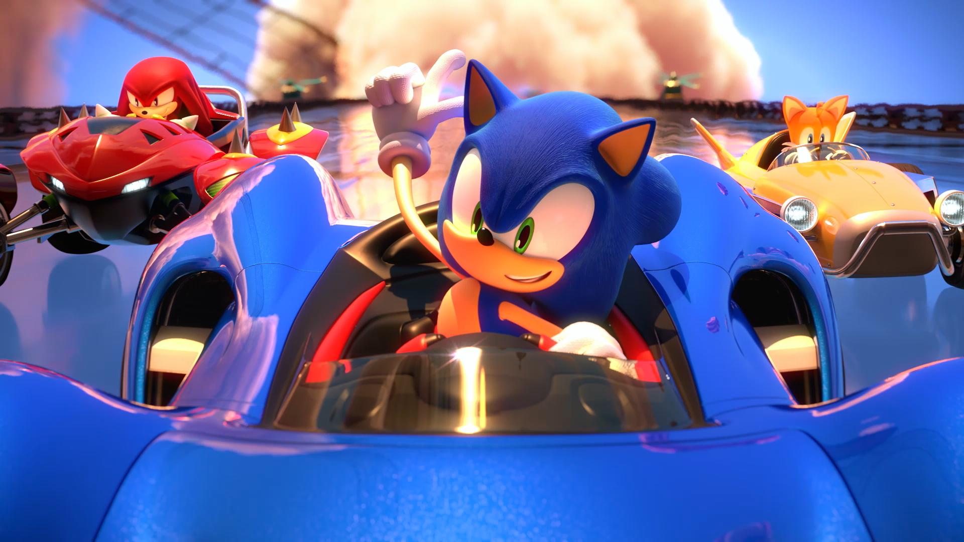 SEGA onthult nieuwe beelden voor Team Sonic Racing